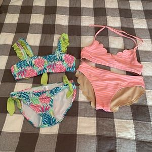 Other - Girl's Bikini Sets Size L/Size 14 in VGUC